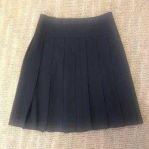 Black Theory Pleated Skirt